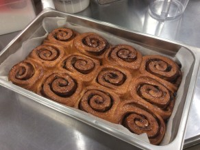 Cinnamon Buns: out from the oven