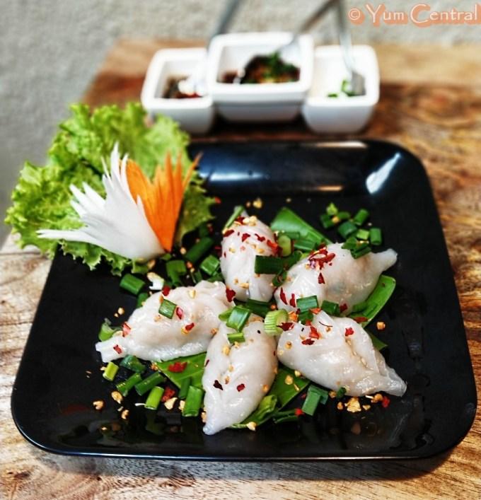 Spicy Prawn Gyoza