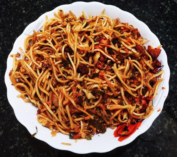 Chicken Noodles - La Zizone Restaurant