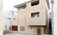 大阪市住吉区 T様邸(二世帯) 竣工:2014年5月」※防火地域