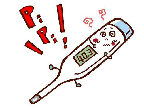 体温計で計ったが高い