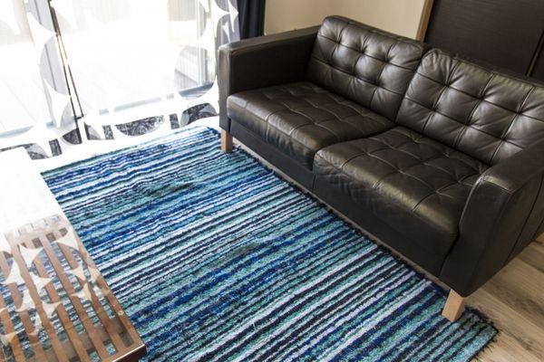 カーペットの床