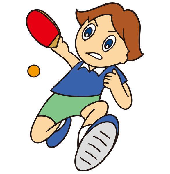卓球で気持ちよく技を決める