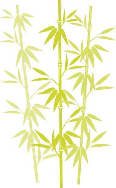 黄ばんだ竹の葉