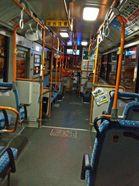 バスで置き去り