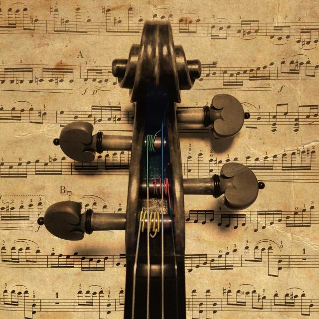 バイオリンの弦が切れる