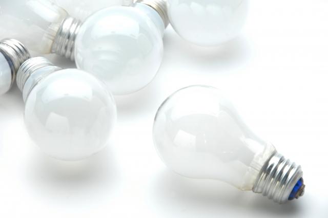 電球を交換する