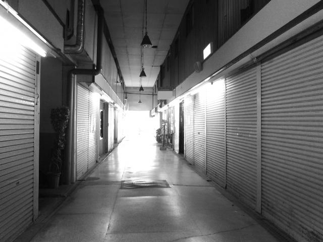 シャッター商店街