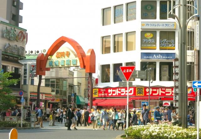 商店街が人混み