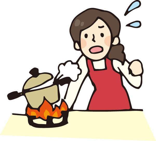 料理を苦労して作る