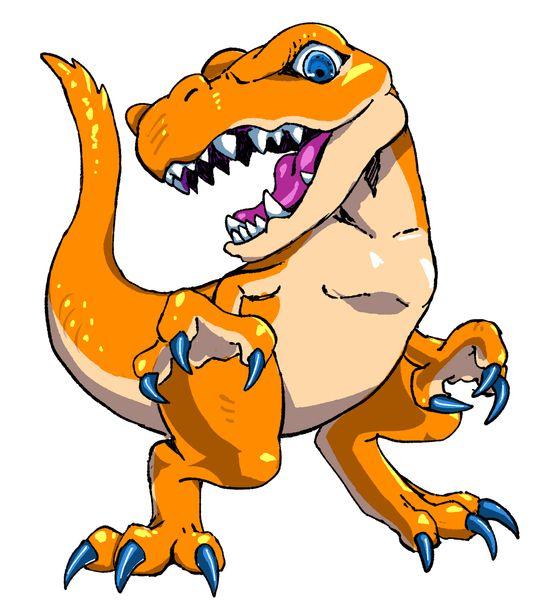 恐竜が追いかけてくる