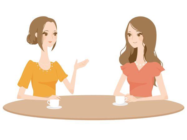 好きな人と会話をする