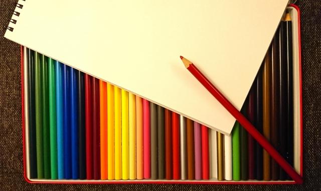 色鉛筆を買う