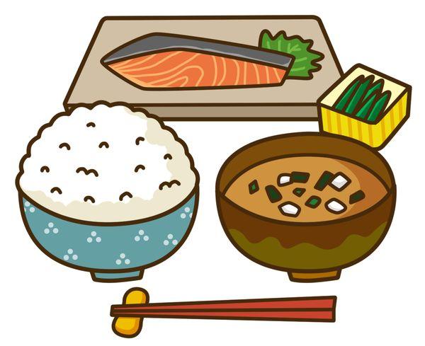 魚を食べる
