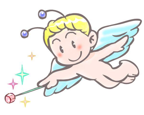 妖精が魔法を使う