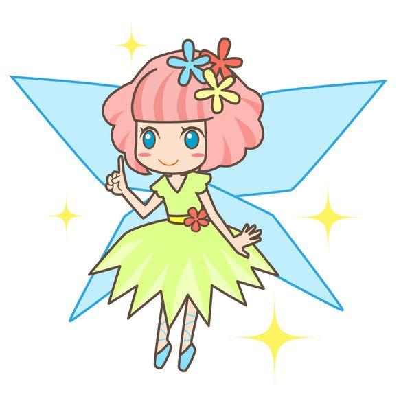 妖精が現れる