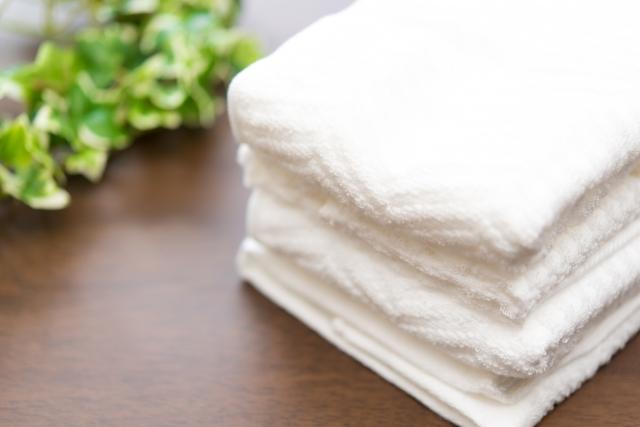 固いタオルで嫌な気持ちになる