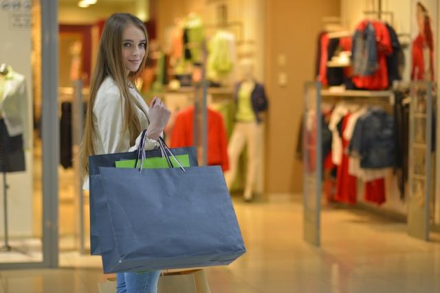 外国で買い物をする