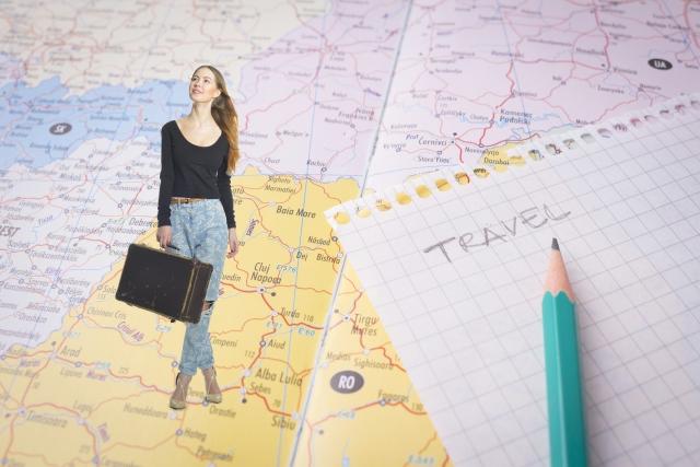 外国に旅行に行く