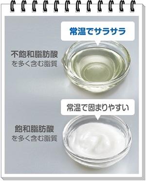 飽和脂肪酸と不飽和脂肪酸300