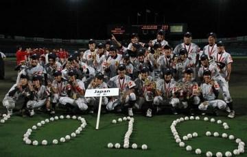 女子野球ワールドカップ2016マドンナジャパン祝5連覇達成!