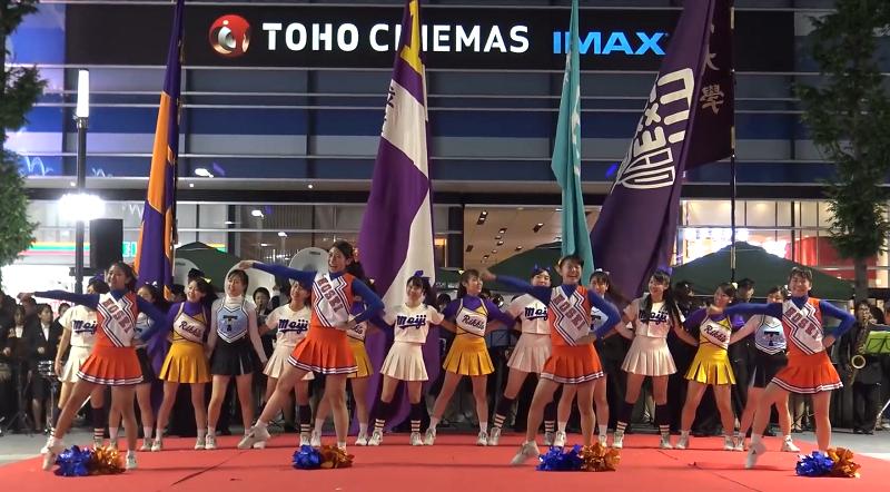 歌舞伎町まつり 東京六大学応援...