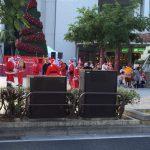 那覇市パレット久茂地に大量のサンタクロース!クリスマスイベント?