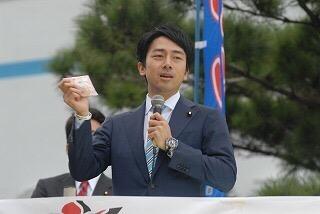 演説がうまいと評判の小泉進次郎沖縄入り!スケジュール予定・日程