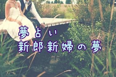 【夢占い】新郎新婦の夢|理想のパートナーを象徴