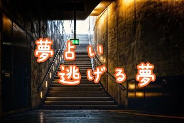 【夢占い】逃げる夢の22の意味|迫ってくる期日などを暗示
