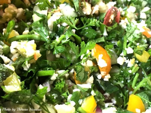 Tabbouleh with Mint & Cilantro