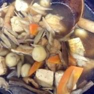 けんちん汁・巻繊汁・豚汁・煮物・芋煮