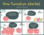 How Yumintum Started. Chapter 3: Solution: Mehar Creating Vegan Sweets