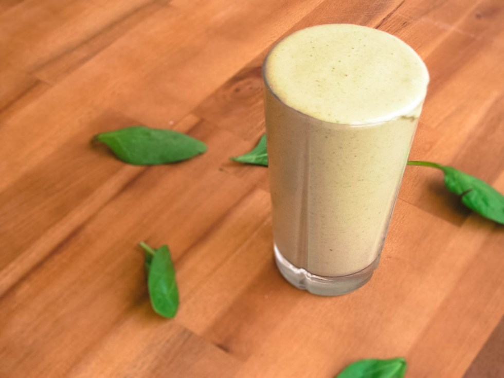 spinach-banana-smootie