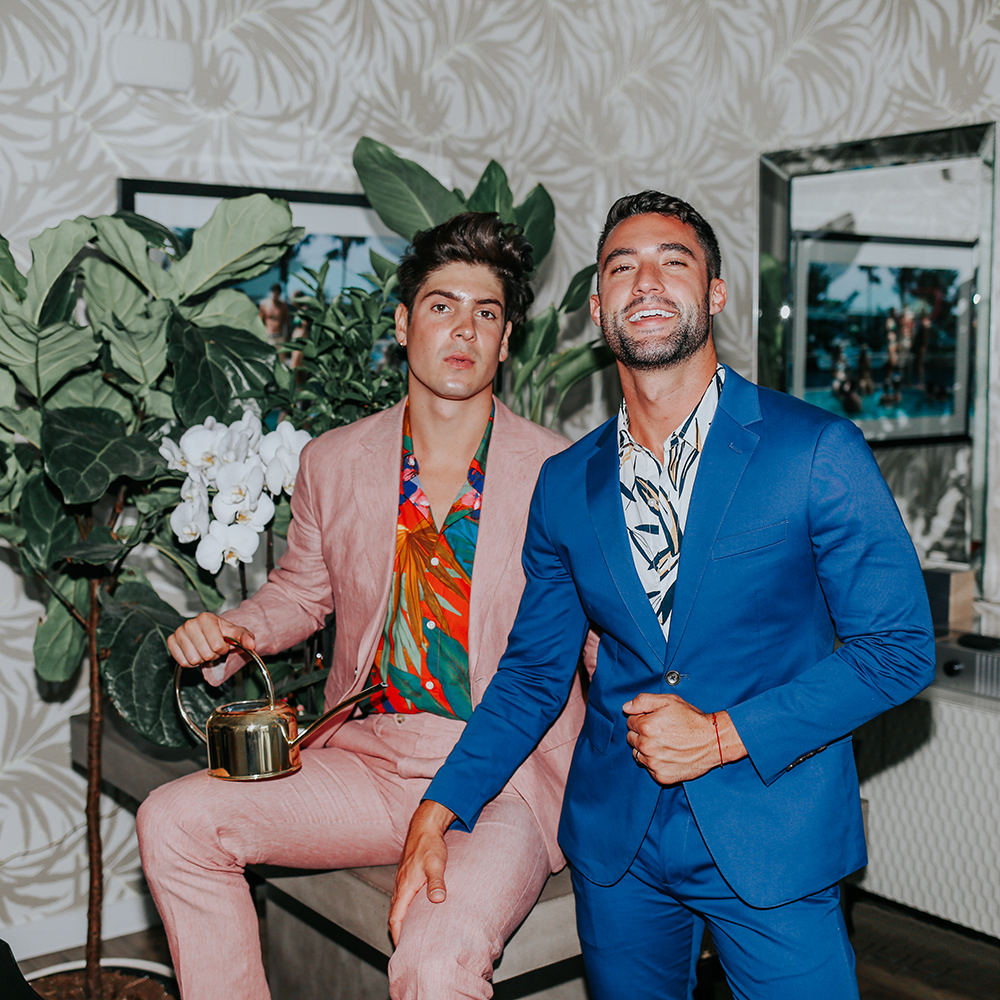 Brock and Chris of Yummertime style the best off the rack suiting for men, Bonobos