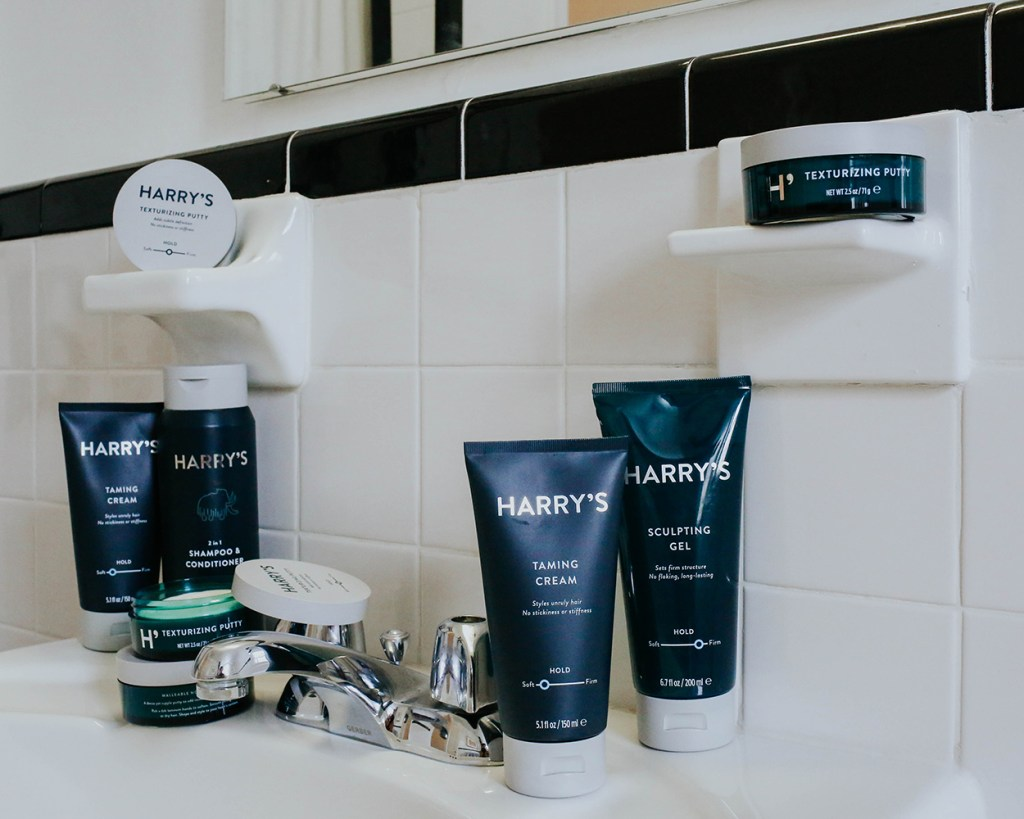 men's grooming products, Harry's