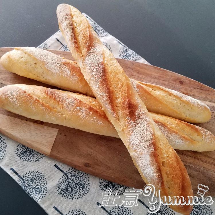 法式長棍麵包 (中種法)