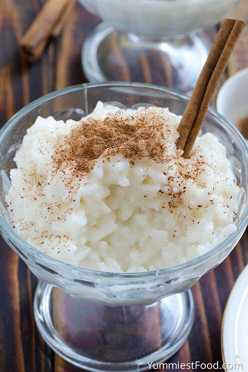 Cinnamon Rice Pudding Recipe | Yummiest Food