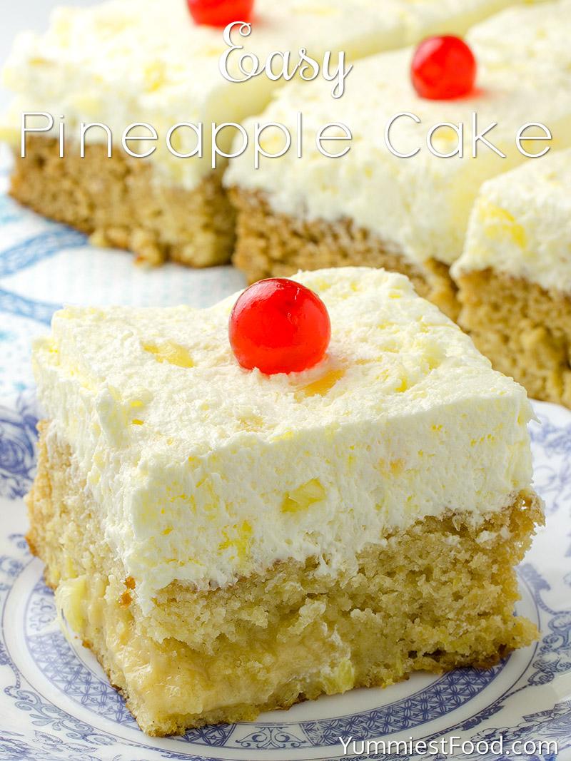 Tasty Pineapple Upside Down Cake