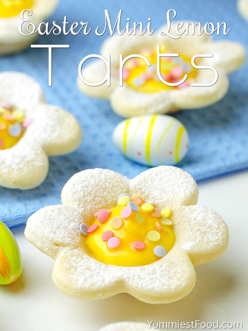Easter Mini Lemon Tarts Recipe