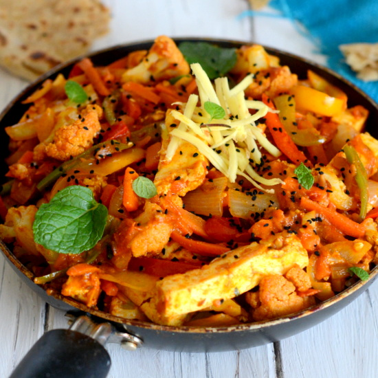 INDIAN STYLE STIR FRY - Yummily Yours