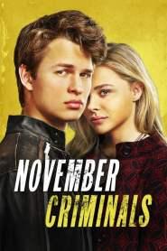 คดีเพื่อนสะเทือนขวัญ November Criminals (2017)