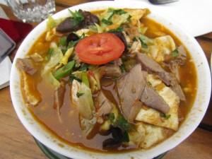 Ladakhi (handmade) Noodle soup