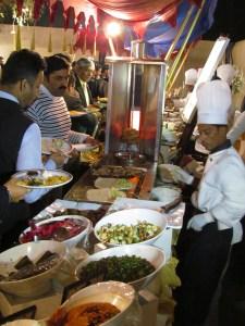 Rush at Food Art stall