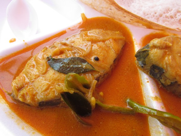 Fish Raw Mango curry