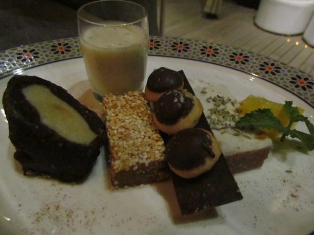 Moroccan sweet platter