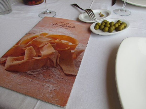 beautifully illustrated menu card with superb photography