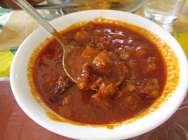 Chorizo curry (Chourice)