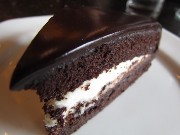 Squidgy Chocolate Mousse cake