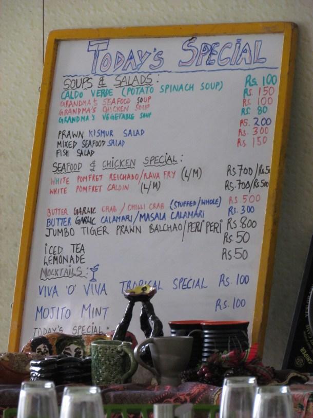 another menu